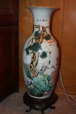 large antique 19th Century CHINESE Porcelain Vase