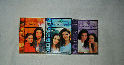 Lot Of 3 Gilmore Girls The Complete Season 1,2,3 DVD Box Set TV Show/Series