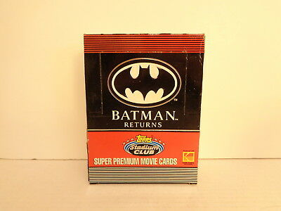 1992 Topps Batman Returns 36 Sealed Trading Card Packs