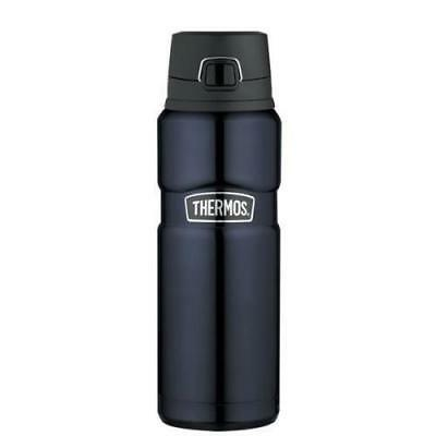Thermos Vacuum Insulated Stainless King Drinking Bottle Matte Black