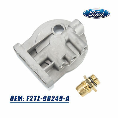 oem diesel fuel filter housing header for ford f150 f250. Black Bedroom Furniture Sets. Home Design Ideas
