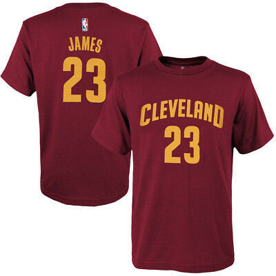 Youths LeBron James Cleveland Cavaliers Outerstuff NBA Player T-Shirt - Wine