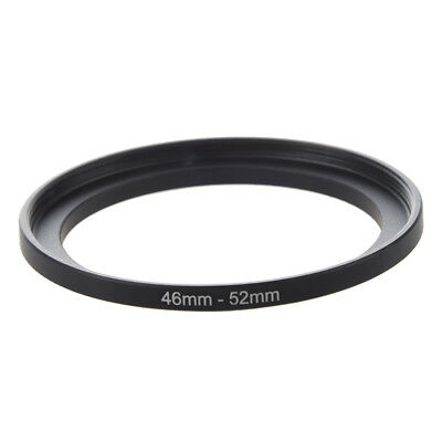 Camera RepaiRing 46mm to 52mm Metal Step Up Filter Ring Adapter A7W6