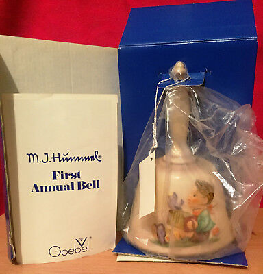 Goebel Hummel 1978 First Edition Annual Bell, #50486, 6""