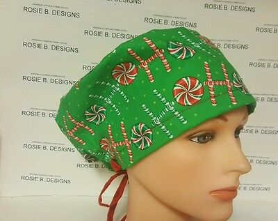Christmas Time   / Hat Pixie / Scrub / Medical Chemo / Cap