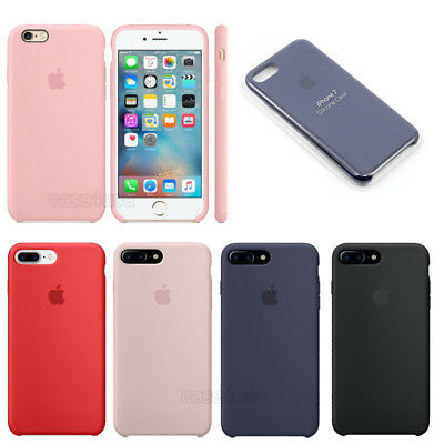 originalee silicone Sottile Custodia Cover per for Apple iPhone 8 7 6s plus