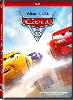 Cars 3: NEW [DVD, 2017]- Family, Animation-