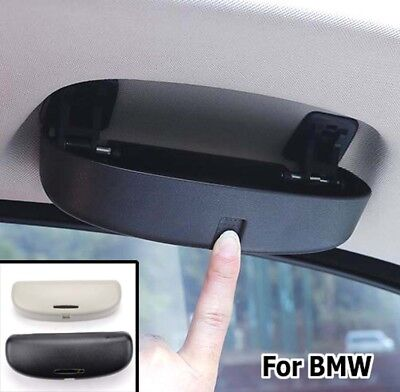 For BMW 1 3 5 X1 X3 X5 F20 F30 F10 F15 Sunglass Holder Case Box Sunglasses Clip