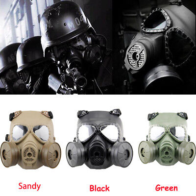 Military Tactical Airsoft Wargame Full Face Mask Cosplay For Paintball CS