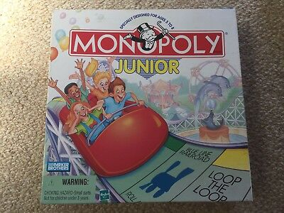 Vintage Monopoly Junior - Board Game Parker Brothers 1999 - Complete!!!