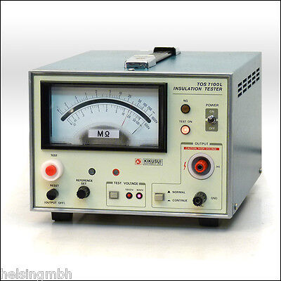 Kikusui TOS7100L,  Isolations Tester, Insulation-Tester, geprüft, tested