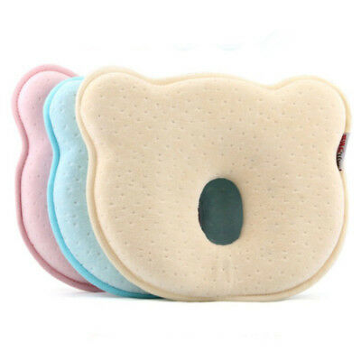Baby Cot Pillow Preventing Flat Head Neck Syndrome newborn Girl Boy Child Safe