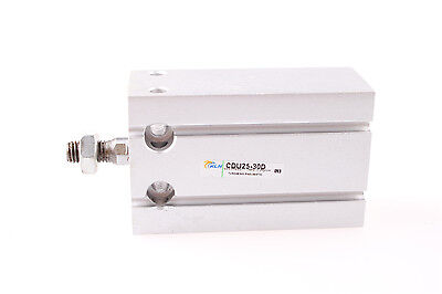 1Pcs CDU 25-30 Single Rod Double Acting Pneumatic Air Cylinder
