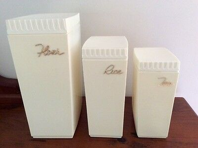 Vintage / RETRO Cannisters - AUSTRALIAN MADE !