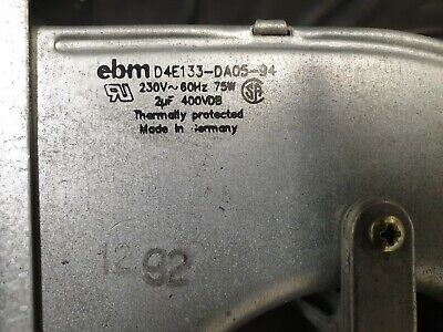 EBM D4E133-DA05-94 230V Centrifugal Fan Blower