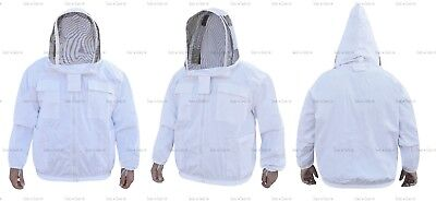 Pro Heavy Duty Cotton Beekeeping Jacket Unisex Bee Jacket Beekeepers X-Large