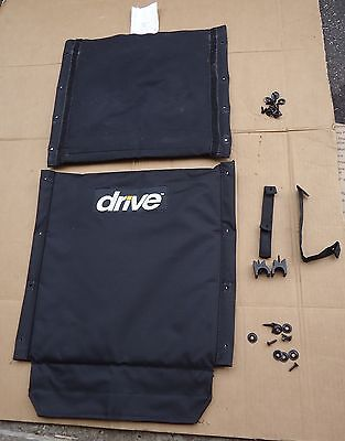 drive cruiser 3 wheelchair parts,upholstery back rest cushion seat replacement
