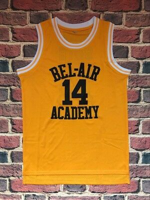 The Fresh Prince Of Bel Air Academy Jersey #14 Will Smith  Yellow Mens