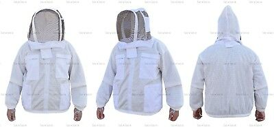 Three Layers Mesh Ultra Beekeeping Jacket Bee Jacket Ventilated Cool Air Large