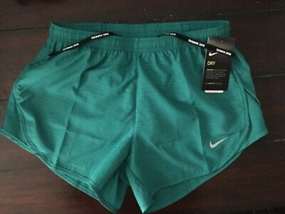 "Nike Womens 3"" Tempo Modern Embossed Running Shorts Dri-Fit $40 895116 351 XS-XL"