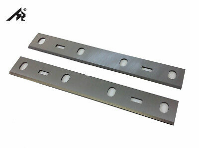 "For Woodstar PT85  Scheppach  Kity PT8500 8""  Planer Knives Blades HSS 210mm, 2x"