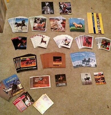 Breyer Box Catalogs:'84-'16 & JAH subscription cards. $0.99 ea. See descript!!