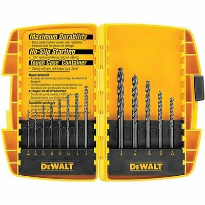 DeWalt DW1163 Black Oxide Drill Bit Set (13 Piece)