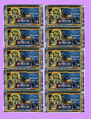 10 Booster LEGO NEXO KNIGHTS Trading Card Game SERIE 2, OVP.