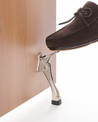 Home Security Bar Mace Brace Step Door Stop House Safety Lock Hotel Apartment