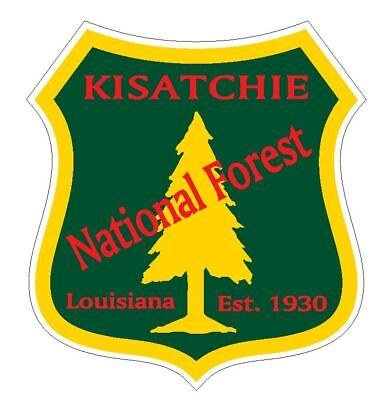 Kisatchie National Forest Sticker R3258 Louisiana YOU CHOOSE SIZE