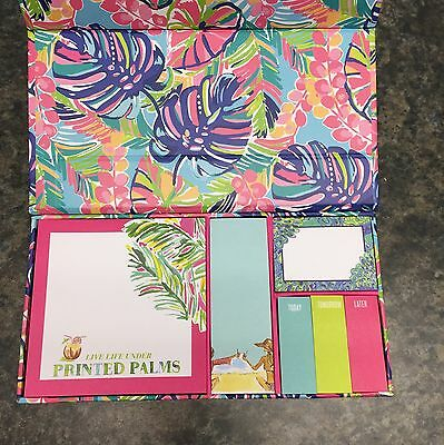 Lilly Pulitzer Sticky Notes in Exotic Garden