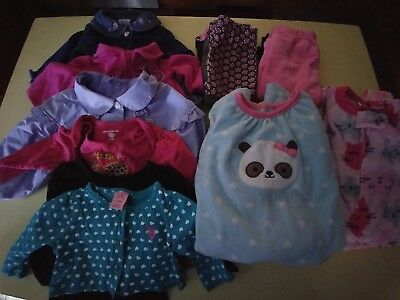 16 PC Lot Of Infant Girls 12 Months Fall/Winter Clothing