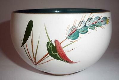 Denby Pottery Greenwheat Pattern Sugar Bowl 9.5cm Dia made in Stoneware