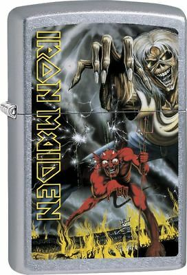 Iron Maiden - Street Chrome - Zippo Lighter