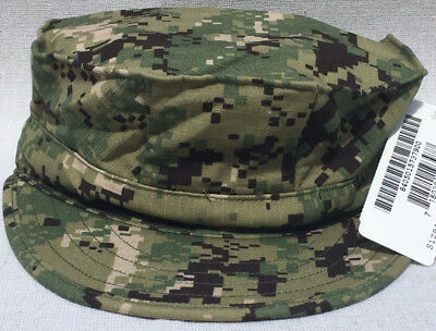 NAVY NWU TYPE III AOR 2 Forest 8 Point Cover Size 7 3/4 In Stock Now !!!