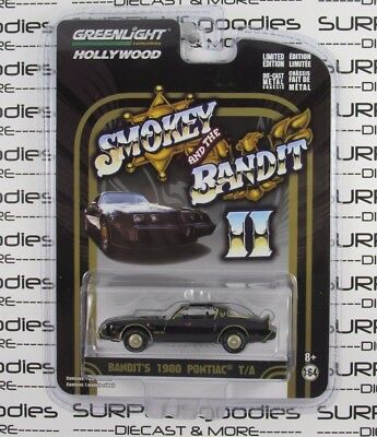 GREENLIGHT 1:64 Hollywood Smokey and The Bandit II 1980 PONTIAC T/A Trans Am