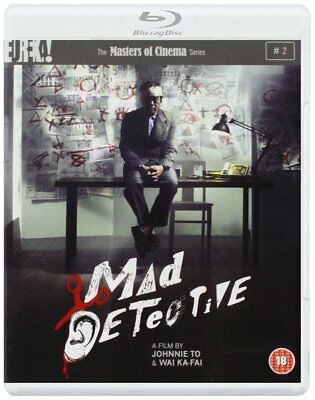 MAD DETECTIVE (2007) Blu-Ray + DVD BRAND NEW Free Ship USA Compatible