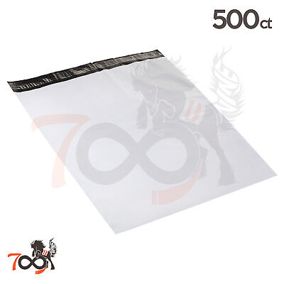 500.5 Mil 24x24 Owlpack Seal Poly Mailer Security Shipping Plastic Envelopes