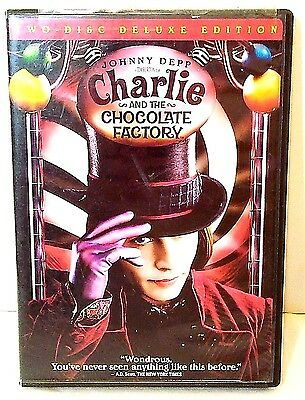 Charlie And The Chocolate Factory Two-Disc Deluxe Edition Dvd Warner Bros