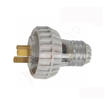 20 AMP 3 Pin Flat Industrial Electrical Captive Plug IP66