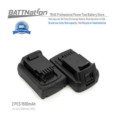 2 x 20V 1.5AH Lithium-Ion Battery for Black & Decker 20 Volt LB20 LBX20 LBXR20