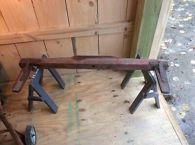 Antique Primitive Farm Wagon Buggy Or Cart Salvaged Part, Ox / Horse? Handmade