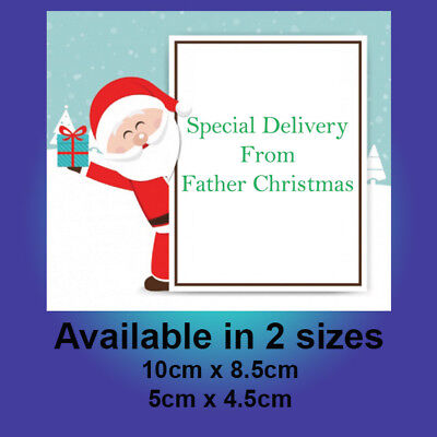 From Father Christmas - North Pole special delivery stickers - gift labels C255