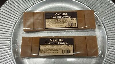 Real Candy Vanilla Fudge (Packet of 2), 2 × 150g