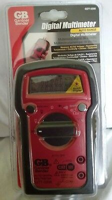 Gardner Bender Digital Multimeter Auto Range Gdt-3200