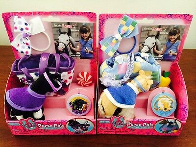 Breyer Lot Of 2 Pony Gals Purse Pals Jasmine And Dixie Collection New