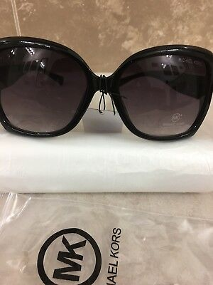 New Michael Kors Women's Gradient Black Butterfly Sunglasses, New with out Box