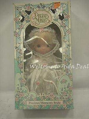 "Precious Moments 10"" Bride Named ""April"" (K Mart Exclusive 1992)"