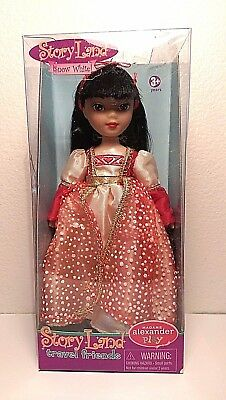 Madame Alexander Story Land Travel Friends Fairy Princess Snow White Doll 7 in.