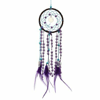 Dream Catcher Campanula with feather Car Wall Hanging Decor Ornament Crafts HP